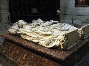 Burgos Cathedral Tomb Inside