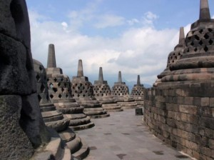 Cambanes at Borobudur Temple