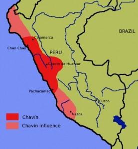 Chavin de Huantar Map