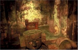 Chichen Itza Temple Inside