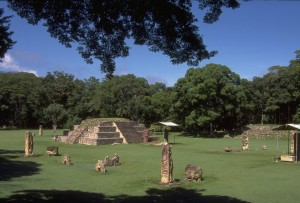 Copan Sculpture and Plazas