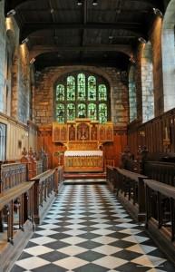 Durham Castle Tunstall's Chapel