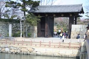 Entrance of Himeji Castle