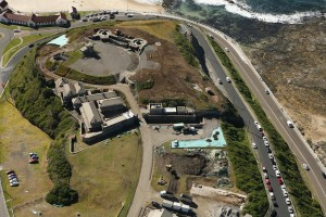 Fort Scratchley Top View
