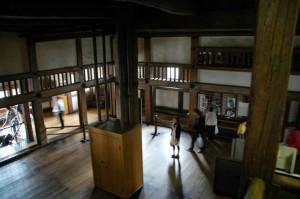 Inside View of Himeji Castle