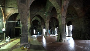 Inside View of Sona Mosque