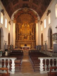 Inside of Alcobaca Monastery