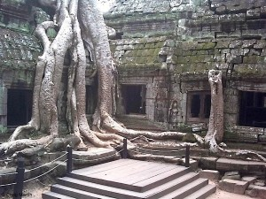 Inside of Angkor Wat