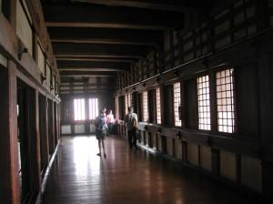 Inside of Himeji Castle