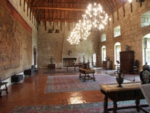 Inside of Pena National Palace