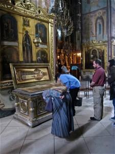 Inside of Trinity Lavra of St. Sergius