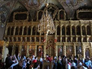 Interior of Trinity Lavra of St. Sergius