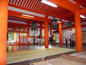 Itsukushima Shrine Inside