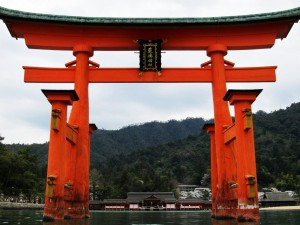 Itsukushima Shrine Torii Gate