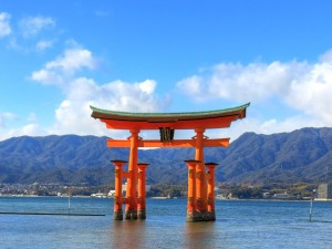 Itsukushima Shrine Torii Gate Pictures