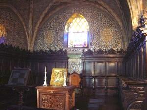 Lisbon Pena Palace Inside Chapel