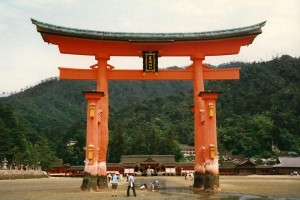 Low Tide in Itsukushima Shrine