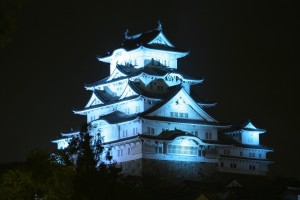 Night View of Himeji Castle