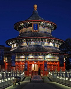 Night View of Temple of Heaven