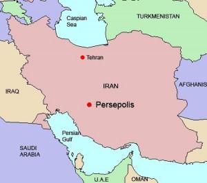 Persepolis Map