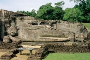 Polonnaruwa Gal Vihara Buddhist Statue