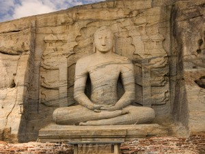 Polonnaruwa Gal Vihara Buddhist Statue Picture