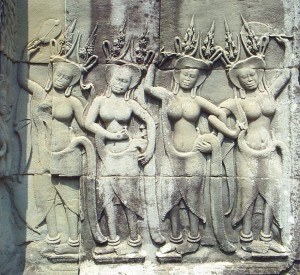 Sculpture of Angkor Wat