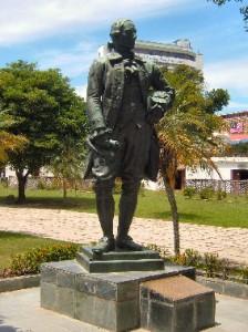 Sir Francis Light Statue