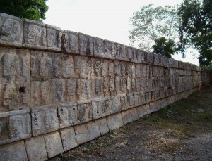 Skull Platform of Chichen Itza