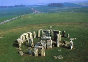 Stonehenge form Ariel View
