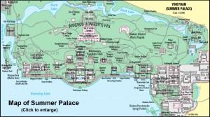 Summer Palace Map