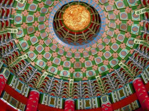 Temple of Heaven Prayer Hall Inside