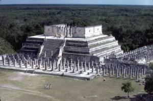 Temple of the Warriors Chichen Itza