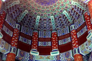 Top View Inside Temple of Heaven