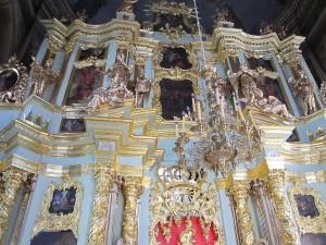 Trinity Lavra of St. Sergius Inside View