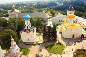 Trinity Lavra of St. Sergius Top View