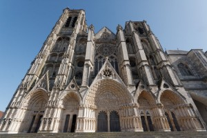 Bourges Cathedral Facade