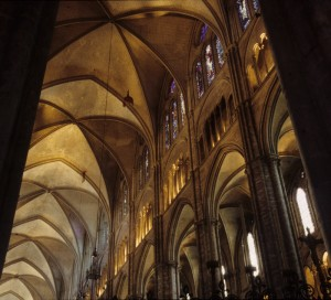 Bourges Cathedral Inside