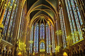 Bourges Cathedral Sainte Chapelle Interior