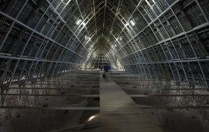 Chartres Cathedral Inside Roof Space