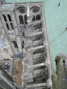Chartres Cathedrale Flying Buttresses
