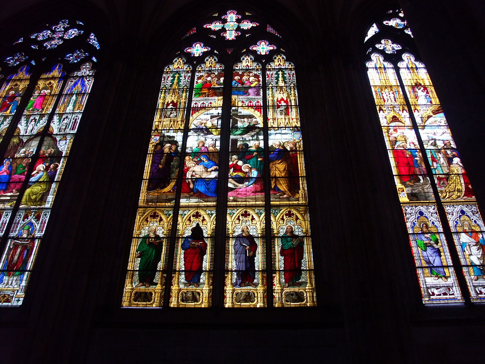 Colgne Cathedral Modern Stained Glass