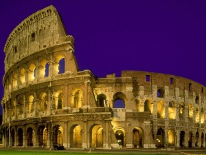 Colosseum at Night View