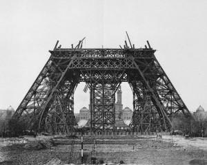 Construction Tour Eiffel Tower Step 2