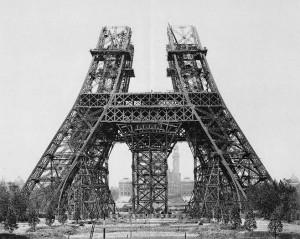 Construction Tour Eiffel Tower Step 3