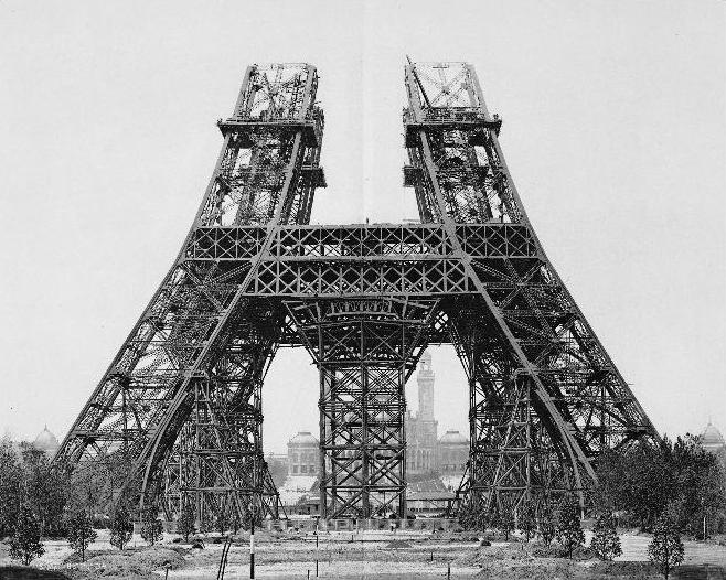 the history of the eiffel towers construction Eiffel tower history the eiffel tower was built for the international exhibition of paris of 1889 commemorating the centenary of the french revolution the prince of wales, later king edward vii of england, opened the tower.
