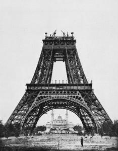 Construction Tour Eiffel Tower Step 4