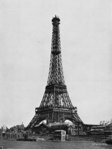 Construction Tour Eiffel Tower Step 5