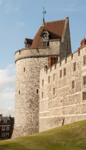 Curfew Tower of Windsor Castle