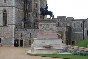 Equestrian Statue of Charles II of Windsor Castle